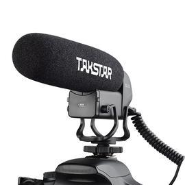 得胜(TAKSTAR) SGC-600 采访枪型麦克风 会议新闻录音电容话筒 VLOG视频拍摄麦克风摄像机单反可用