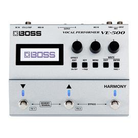 波士(BOSS) VE-500 人声和声综合效果器 民谣电木吉他高音校准和声效果器