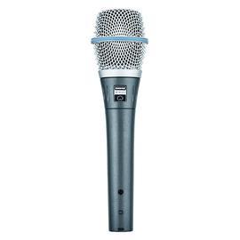舒尔(SHURE) Beta  87C 手持电容录音麦克风 专业舞台演出录音K歌话筒(标配不含线材)