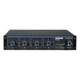 舒尔(SHURE) SCM410 四通道数字式自动智能混音器会议舞台混音器处理器