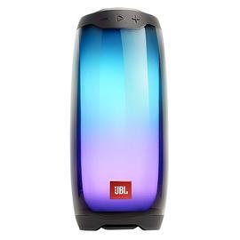 JBL PULSE4 全新音乐脉动4炫彩光效无线蓝牙音箱 户外便携防水低音 (黑色)