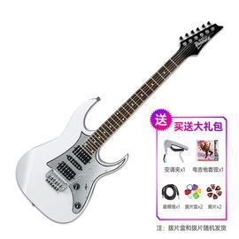 依班娜(Ibanez) 电吉他品牌 GRG150P 流行 摇滚 双摇电吉他 (白色)