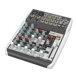 百灵达(BEHRINGER) QX1002USB 10路带效果模拟便携式调音台 电脑手机录音主播网络直播K歌USB外置声卡
