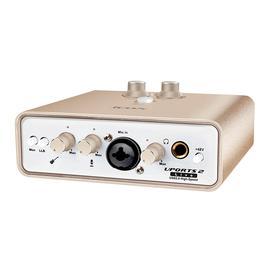 艾肯(iCON) Uports2 live 录音K歌直播USB外置声卡 网络主播直播K歌音频接口(升级版)