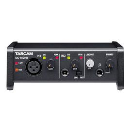 TASCAM US-1X2HR 专业录音USB外置声卡 录音编曲直播K歌音频接口