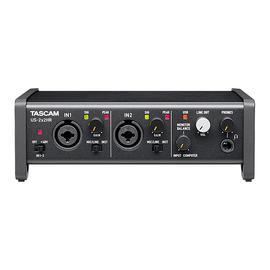 TASCAM US-2X2HR 专业录音USB外置声卡 录音编曲直播K歌音频接口