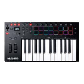 美奥多(M-AUDIO) OxygenPro 25 25键专业编曲键盘 半配重MIDI控制器