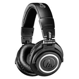铁三角(Audio-technica) ATH-M50XBT 专业头戴式监听耳机 蓝牙HIFI耳机(黑色)