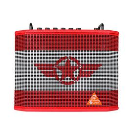 魔方魔(LPTA) 魔方 魔3plus X 电箱原声电木吉他音箱 户外便携式蓝牙直播弹唱音响 (五星红)