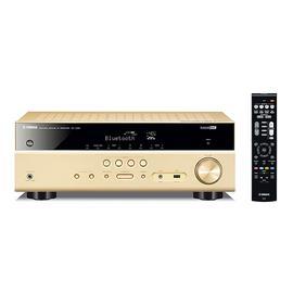 雅马哈(YAMAHA) RX-V385  5.1声道家庭影院蓝牙数字功放 (金色)