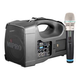 咪宝(MIPRO) MA-202B 56W 无线扩音器 教学户外使用便携音箱(配单手持麦)