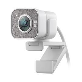 罗技(Logitech) Stream Cam 1080p 高清美颜网红主播直播摄像头 (白色)