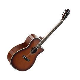 星臣(Starsun) TG220C-P 40寸初学者入门缺角民谣吉他(烟草化色)