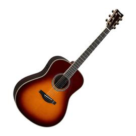 雅马哈(YAMAHA) LL-TA 41寸加振全单电箱吉他 (落日色)