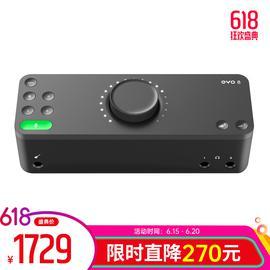 Audient EVO8 专业录音USB外置声卡 录音编曲直播K歌音频接口