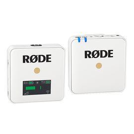 罗德(RODE) Wireless GO 领夹录音无线麦克风迷你小蜜蜂 手机直播vlog网课视频采访单反相机话筒(白色)