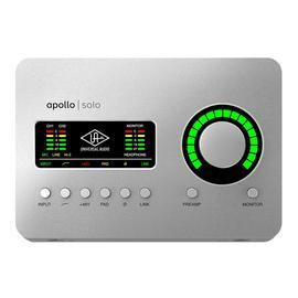 阿波罗(Universal audio) Apollo SOLO 2进4出单核雷电3专业录音外置声卡 新款(MAC系统版)