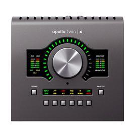 阿波罗(Universal audio) Apollo Twin x QUAD 2进6出雷电3专业录音外置声卡 新款(四核)