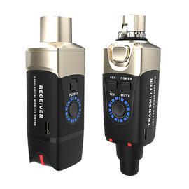 Xvive U3C 2.4G电容麦克风无线系统(一拖一)