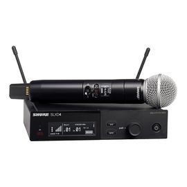 舒尔(SHURE) SLXD24/SM58 一拖一专业数字手持式无线麦克风 演出/主持/演讲话筒(标配不含线材)
