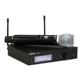 舒尔(SHURE) SLXD24/BETA87A 一拖一专业数字手持式无线麦克风 演出/主持/演讲话筒(标配不含线材)