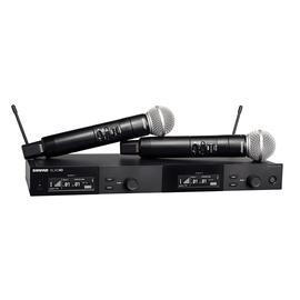 舒尔(SHURE) SLXD24D/SM58 一拖二专业数字手持式无线麦克风 演出/主持/演讲话筒(标配不含线材)