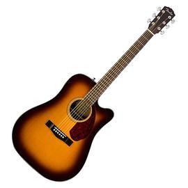 芬达(Fender) CD-140SCE Dread 41寸单板缺角电箱吉他 (日落色)