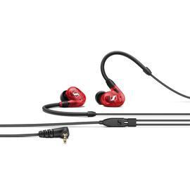 森海塞尔(Sennheiser) IE100 PRO Wireless 可拆线入耳式监听耳机+颈挂无线蓝牙带线控耳机线套装(红色)