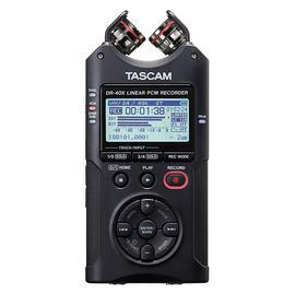 TASCAM DR-40X 4轨便携式数字录音机 单反/摄像机/影视同期声/采访/学生课堂/微电影/vlog/吃播录音笔