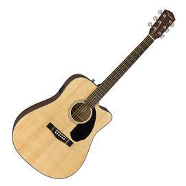 芬达(Fender) CD-60SCE Dread 41寸单板缺角电箱吉他 (原木色)