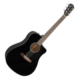 芬达(Fender) CD-60SCE Dread 41寸单板缺角电箱吉他 (黑色)