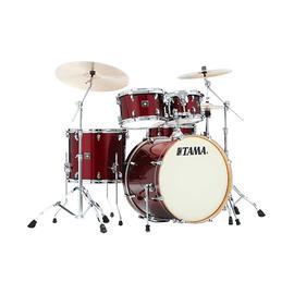 TAMA 超级星CK52KRS 专业练习演奏架子鼓  5鼓不带镲片 (深红色)
