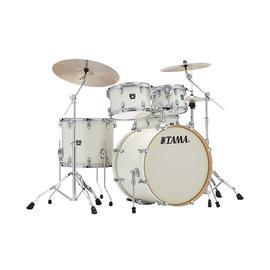 TAMA 超级星CK52KRS 专业练习演奏架子鼓  5鼓不带镲片 (复古白)