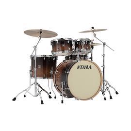 TAMA 超级星CL52KRS 专业练习演奏架子鼓  5鼓不带镲片 (咖啡色)