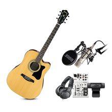 雅马哈AG06调音台搭配罗德NT1-A麦克风 吉他网K套装