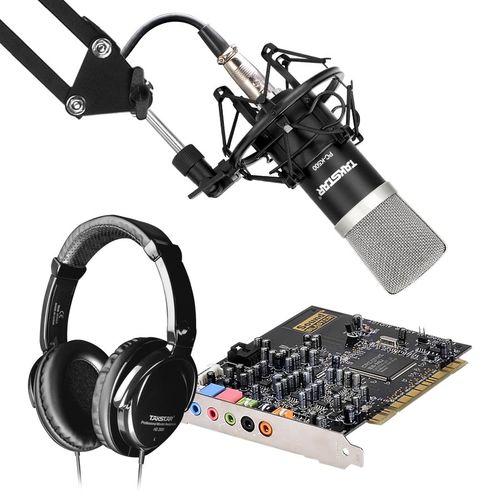 创新A4声卡搭配得胜K500麦克风 网K套装
