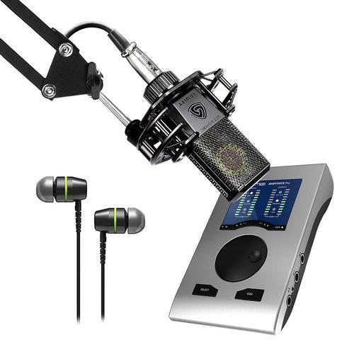 RME Babyface Pro 声卡搭配莱维特LCT 440 PURE麦克风  网K套装