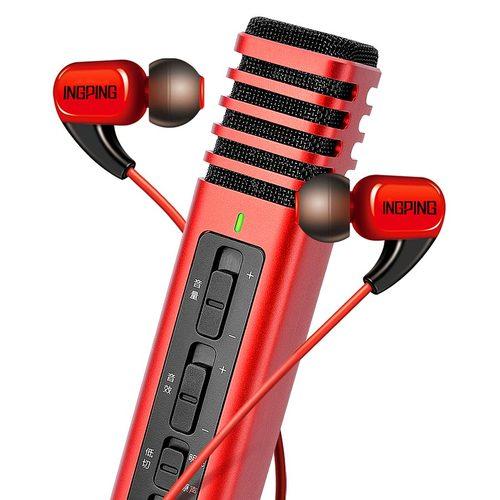 得胜PH125麦克风搭配红豆耳机   手机K歌套装