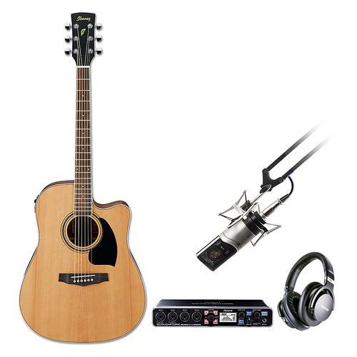 音乐前线 录音吉他套装