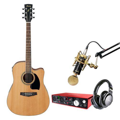 音乐人生 录音吉他套装