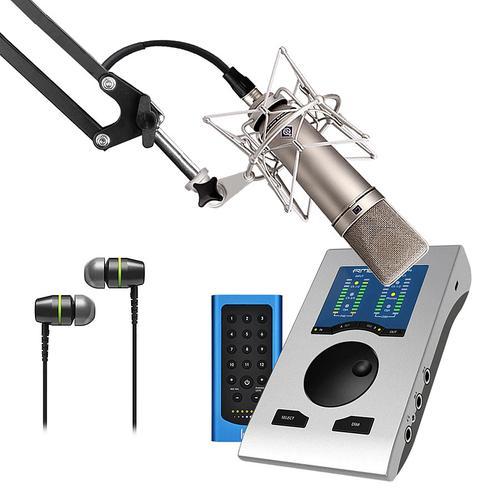 RME Babyface Pro FS声卡搭配纽曼U87 Ai麦克风   电脑手机直播K歌声卡套装 抖音快手主播直播录音设备全套