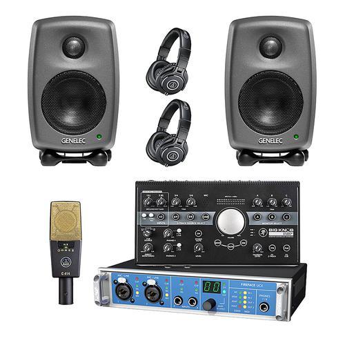 RME Fireface UCX声卡搭配爱科技 C414XLII 麦克风 录音套装