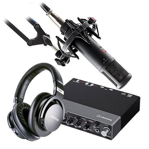 雅马哈UR 24C声卡搭配sE ELECTRONICS se2200 麦克风 专业个人录音配音设备套装