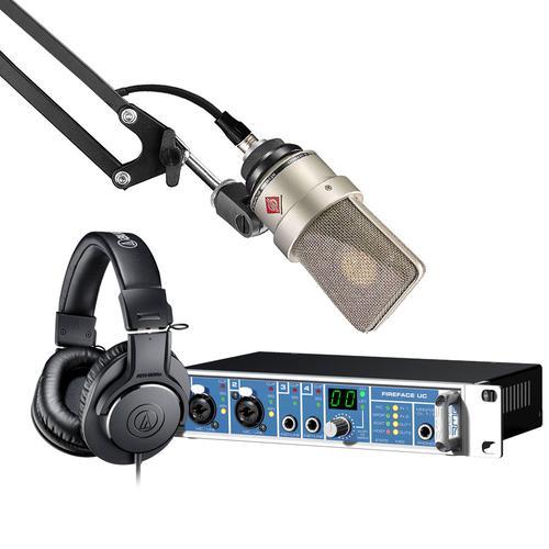 RME Fireface UC声卡搭配纽曼103麦克风 录音套装