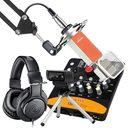 艾肯Upod pro声卡搭配得胜K700麦克风 手机K歌套装