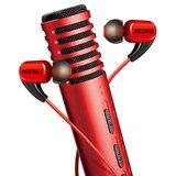 得胜PH105麦克风搭配红豆耳机 手机直播套装(活力红)