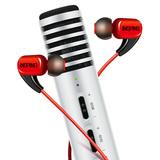 得胜PH105麦克风搭配红豆耳机 手机直播套装(白色)