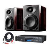 惠威H5音箱搭配TASCAM CD-200播放机   音乐欣赏套装