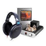 斯巴克N5DSD硬解MP3搭配小不点真空管耳放  音乐欣赏套装
