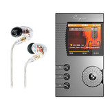 舒尔SE535入耳式耳机搭配斯巴克N5 HIFI发烧MP3 音乐欣赏HIFI听歌套装